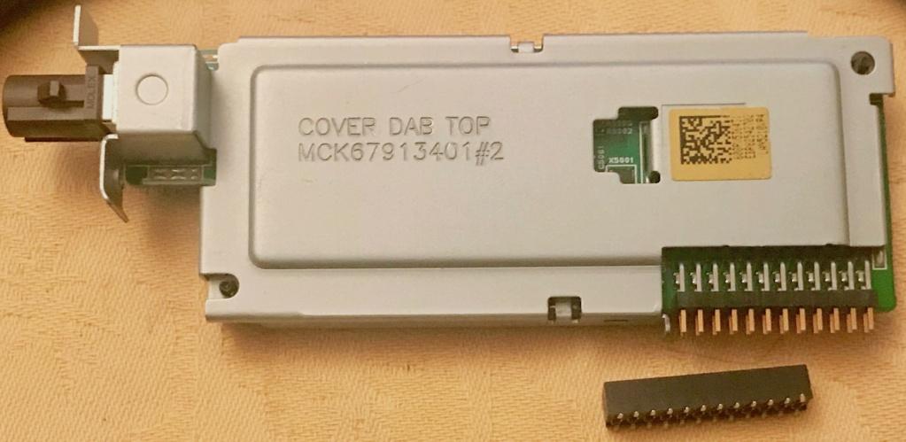Vends module DAB+ avec connecteur Dab_co10