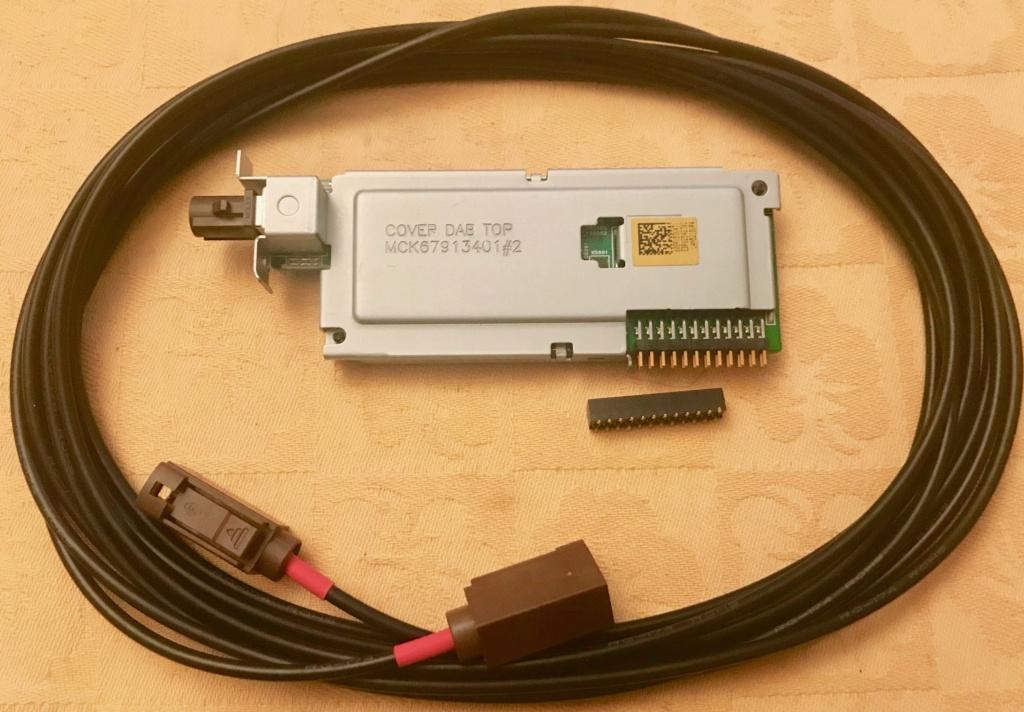 Vends module DAB+ avec connecteur Dab_co11