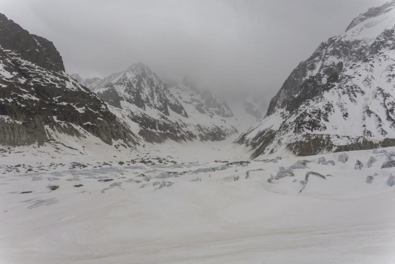 Plan de repli : Vallée Blanche - 2 avril 2016 20160416
