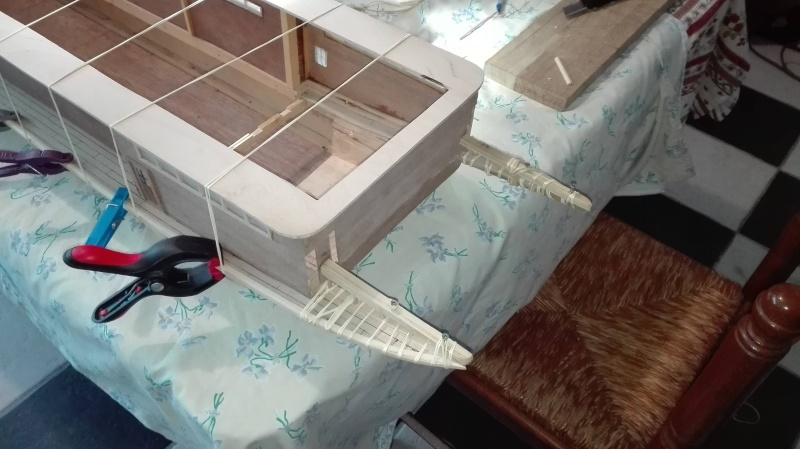 Le Marieville mississipi boat au 1/50° sur plan  - Page 3 Baguet11