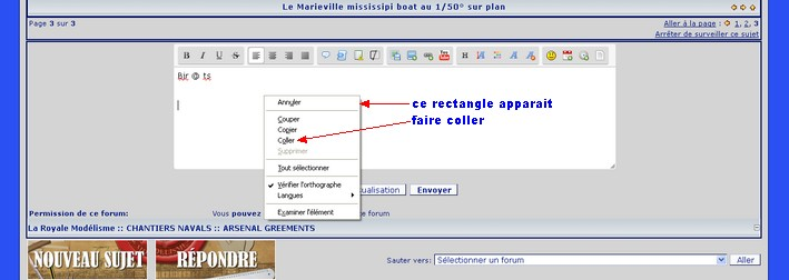 insertion directe d'une photo à partir du message (utilise serving) Insere16