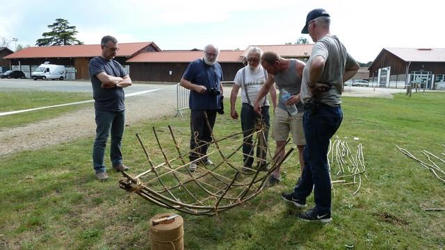 Fabrication d'un coracle 1410
