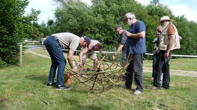 Fabrication d'un coracle 1510