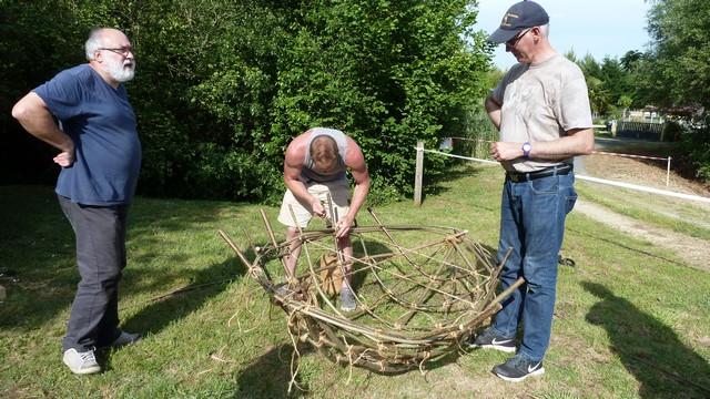 Fabrication d'un coracle 1610