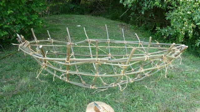 Fabrication d'un coracle 1710