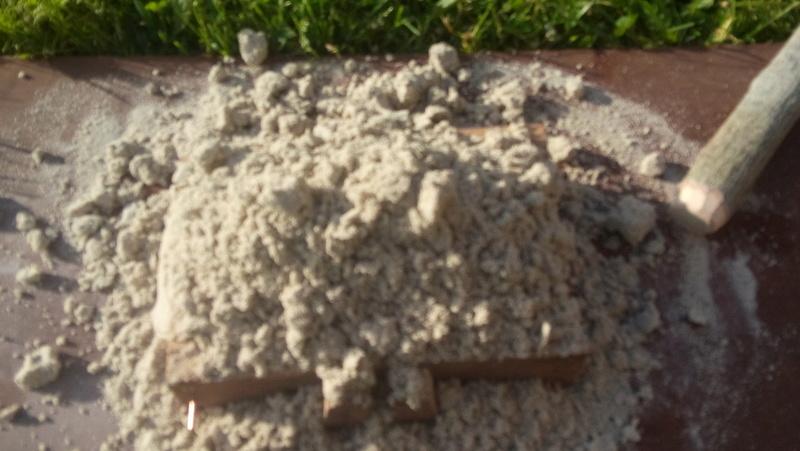Hache en bronze par moulage au sable 20160517