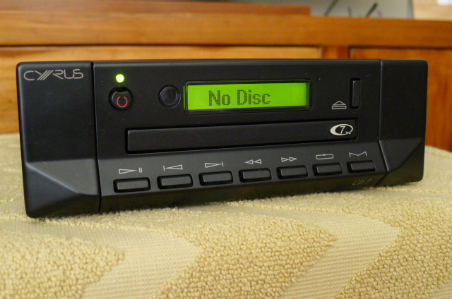 Mission Cyrus CD7Q Compact Disc Player (Used) P1110848