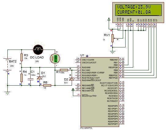 أفضل مشاريع الميكروكونتولر PIC لطلاب الهندسة الكهربية والإلكترونية Top EEE students projects  1010