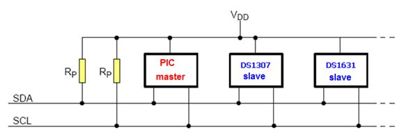 الناقل 2IC وساعة التوقيت الحقيقى DS1307 ومشاريع الساعات الرقمية : 111