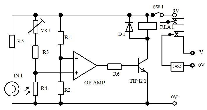 5- حساس للضوء باستخدام ترانزستور و6- -حساس ضوء بالستخدام ترانزستور دارلنجتون  714
