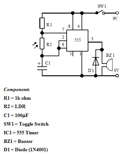 9- كشف شدة الإضاءة Light Intensity 913