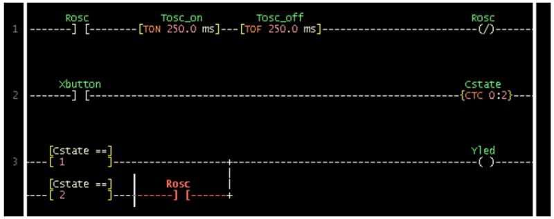 الدرس الثانى : جولة داخل بيئة التطوير المتكاملة لبرنامج LDMicro والمستخدم فى البرمجة بلغة منطق السلم : Image_22