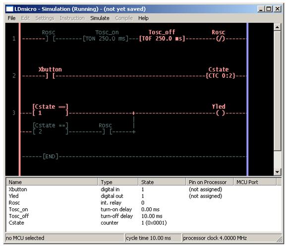 الدرس الثانى : جولة داخل بيئة التطوير المتكاملة لبرنامج LDMicro والمستخدم فى البرمجة بلغة منطق السلم : Image_23
