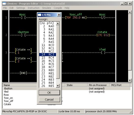 الدرس الثانى : جولة داخل بيئة التطوير المتكاملة لبرنامج LDMicro والمستخدم فى البرمجة بلغة منطق السلم : Image_24