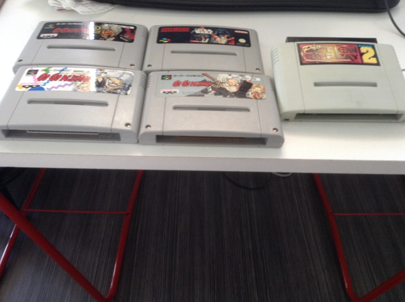 Galere avec pro action replay 2 snes Image11