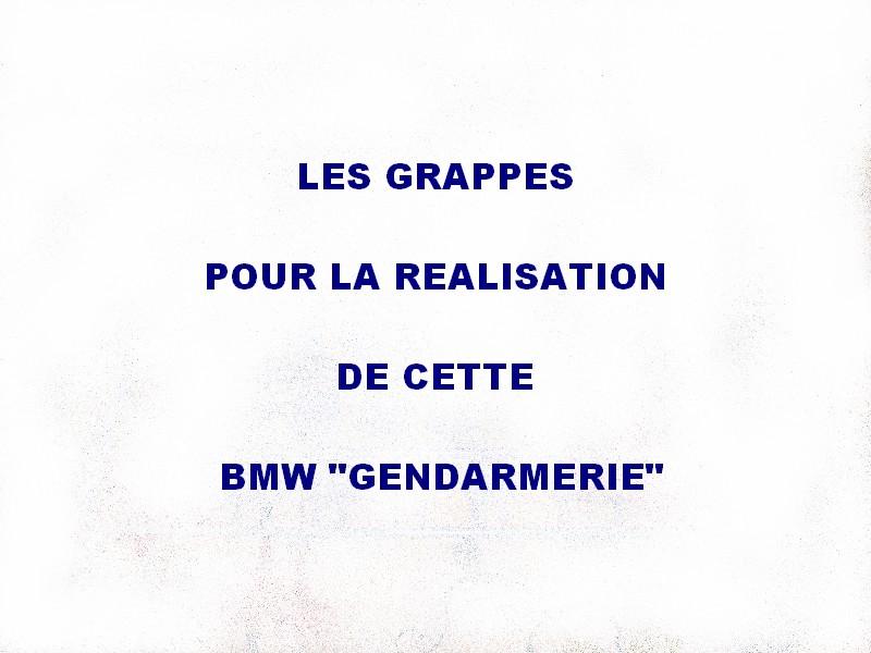 """BMW 60 / 5 """" GENDARMERIE"""" Bmw_0210"""