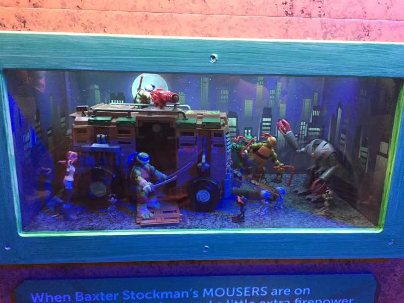 Tour of the TMNT Exhibit at the Children's Museum in Indianapolis Img_5101