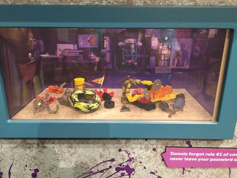 Tour of the TMNT Exhibit at the Children's Museum in Indianapolis Img_5110