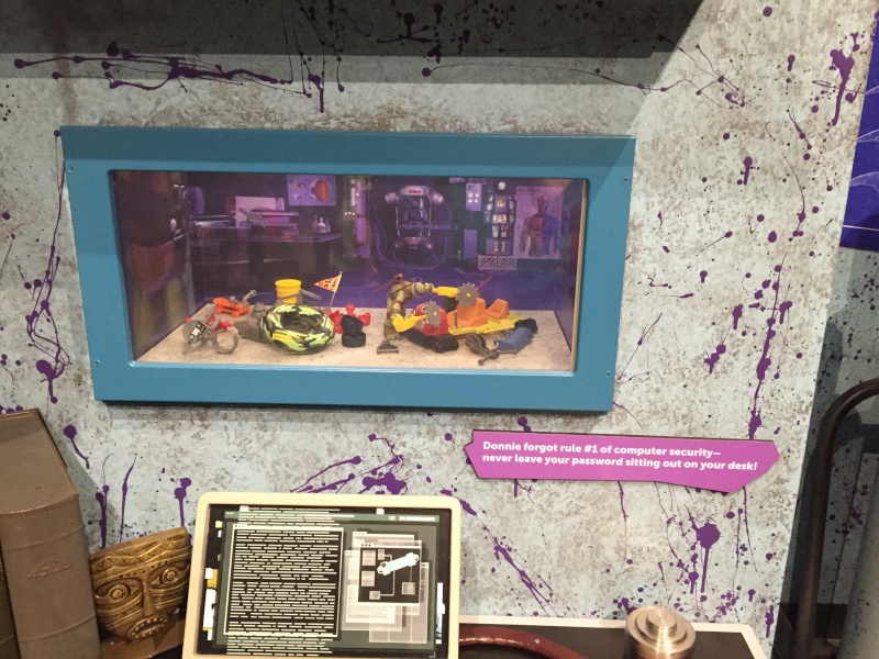Tour of the TMNT Exhibit at the Children's Museum in Indianapolis Img_5112