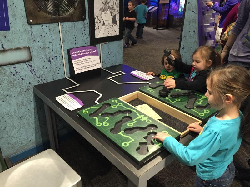 Tour of the TMNT Exhibit at the Children's Museum in Indianapolis Img_5117