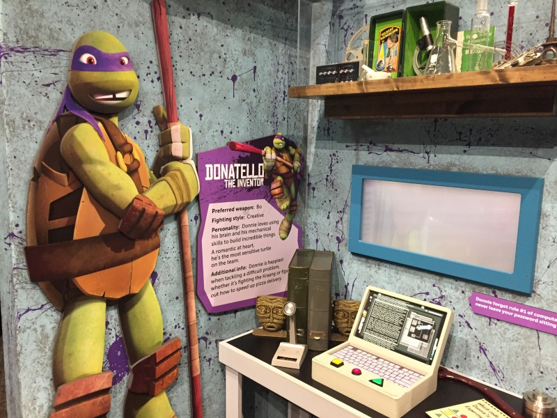 Tour of the TMNT Exhibit at the Children's Museum in Indianapolis Img_5119