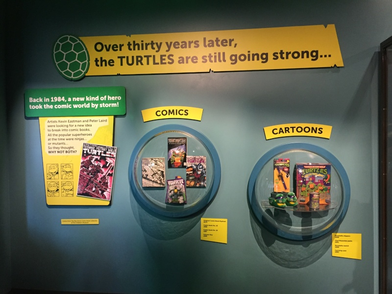 Tour of the TMNT Exhibit at the Children's Museum in Indianapolis Img_5314