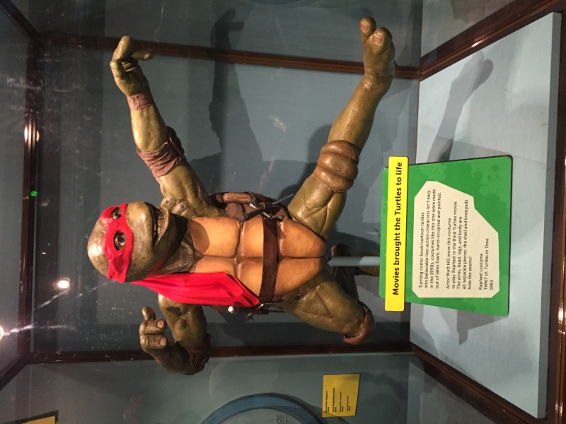 Tour of the TMNT Exhibit at the Children's Museum in Indianapolis Img_5315