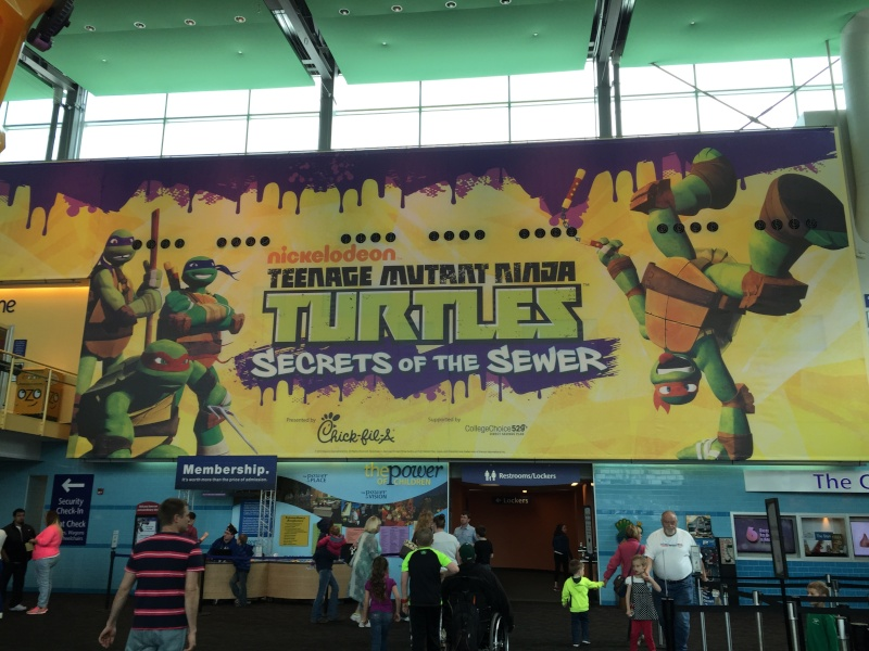 Tour of the TMNT Exhibit at the Children's Museum in Indianapolis Img_5316