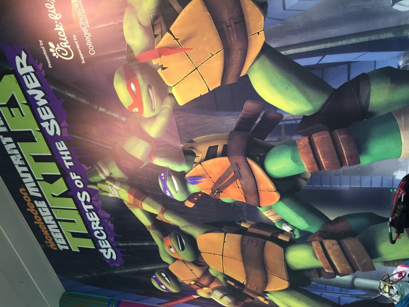 Tour of the TMNT Exhibit at the Children's Museum in Indianapolis Img_5317