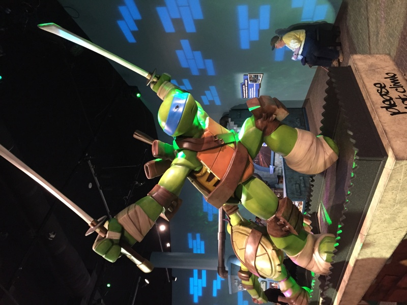 Tour of the TMNT Exhibit at the Children's Museum in Indianapolis Img_5321