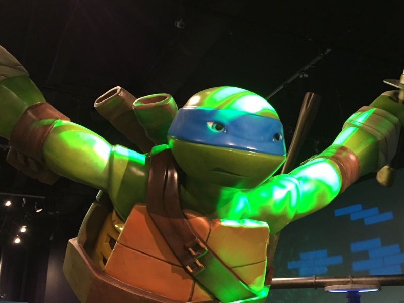 Tour of the TMNT Exhibit at the Children's Museum in Indianapolis Img_5410