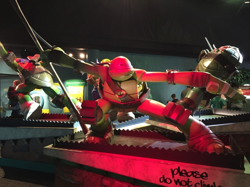 Tour of the TMNT Exhibit at the Children's Museum in Indianapolis Img_5412