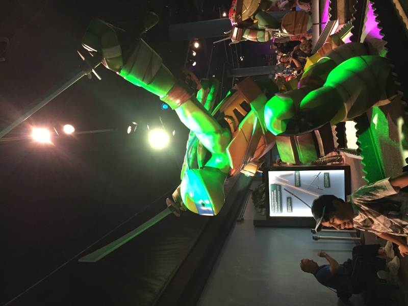 Tour of the TMNT Exhibit at the Children's Museum in Indianapolis Img_5414