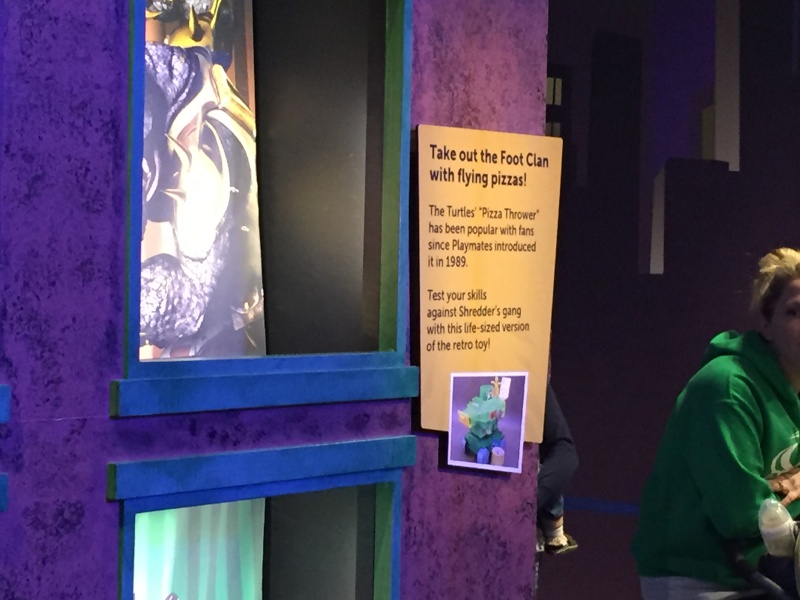 Tour of the TMNT Exhibit at the Children's Museum in Indianapolis Img_5481