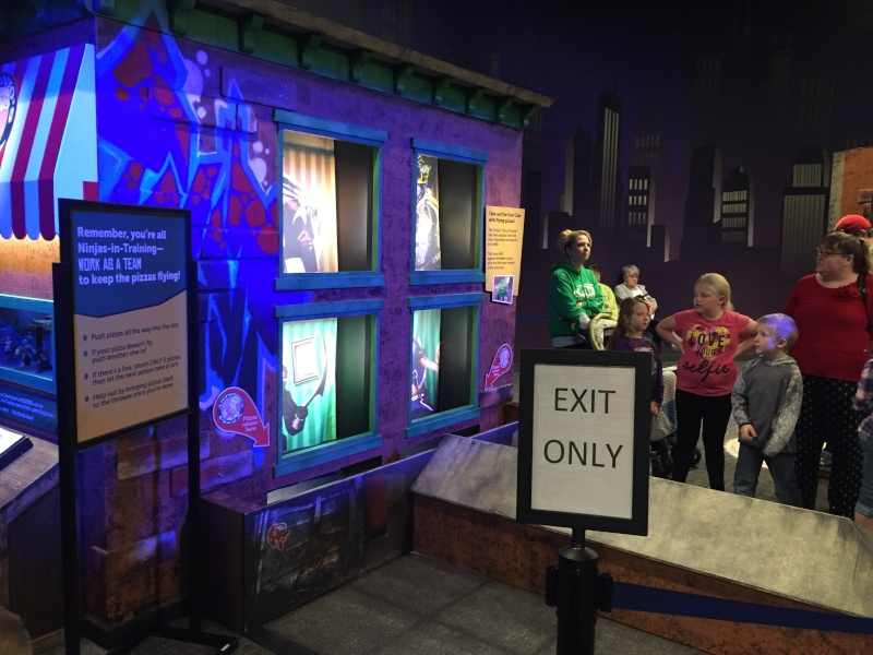 Tour of the TMNT Exhibit at the Children's Museum in Indianapolis Img_5485