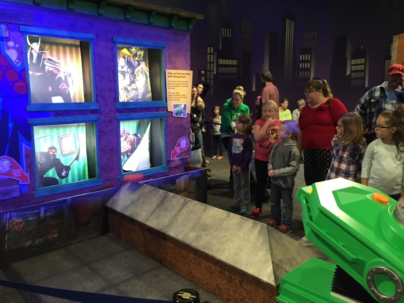 Tour of the TMNT Exhibit at the Children's Museum in Indianapolis Img_5486