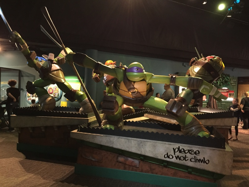 Tour of the TMNT Exhibit at the Children's Museum in Indianapolis Img_5511