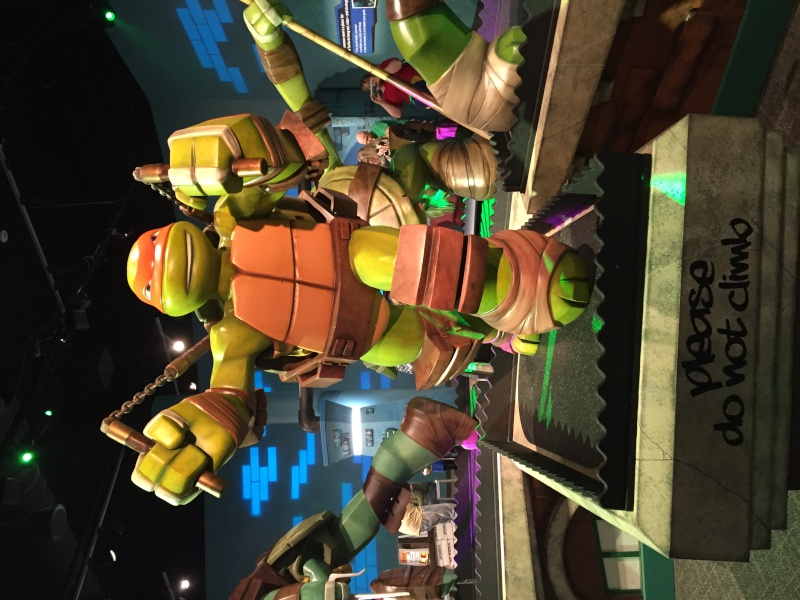 Tour of the TMNT Exhibit at the Children's Museum in Indianapolis Img_5513