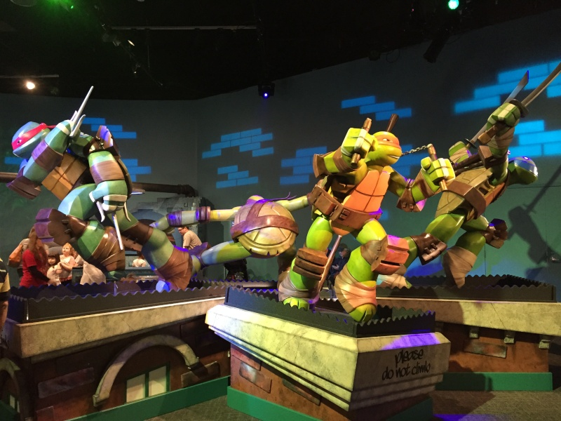 Tour of the TMNT Exhibit at the Children's Museum in Indianapolis Img_5515