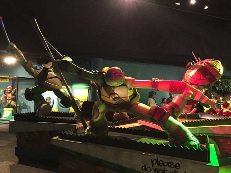 Tour of the TMNT Exhibit at the Children's Museum in Indianapolis Img_5519