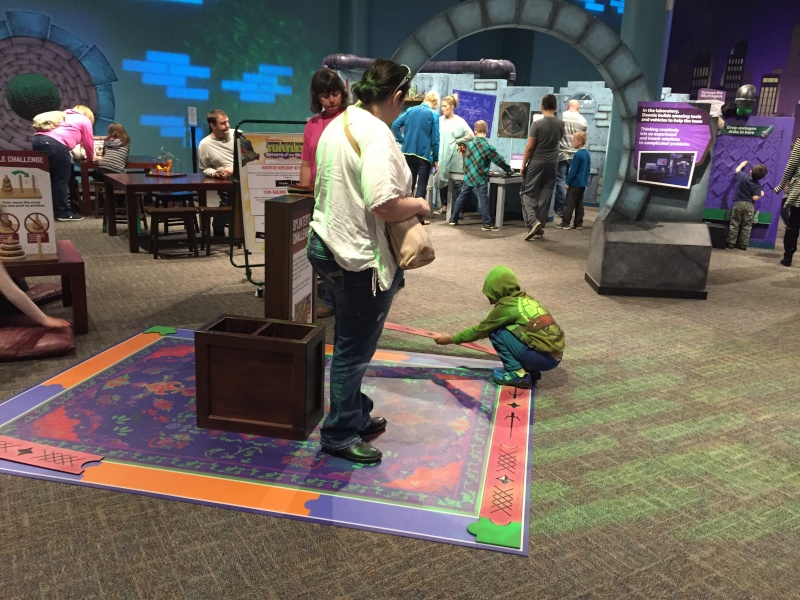 Tour of the TMNT Exhibit at the Children's Museum in Indianapolis Img_5529