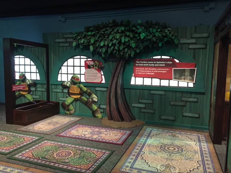Tour of the TMNT Exhibit at the Children's Museum in Indianapolis Img_5530
