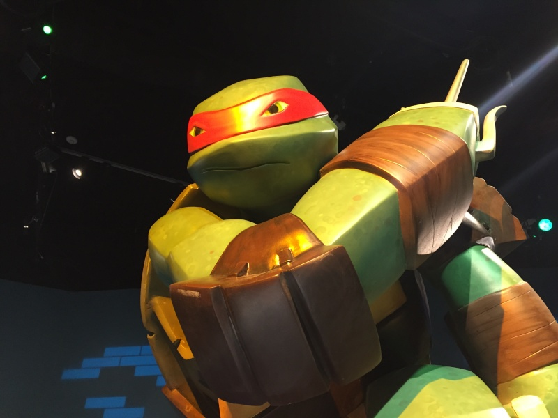 Tour of the TMNT Exhibit at the Children's Museum in Indianapolis Img_5611