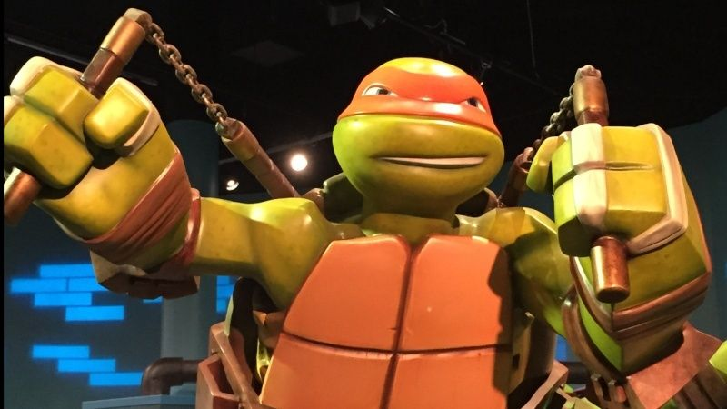 Tour of the TMNT Exhibit at the Children's Museum in Indianapolis Img_5810