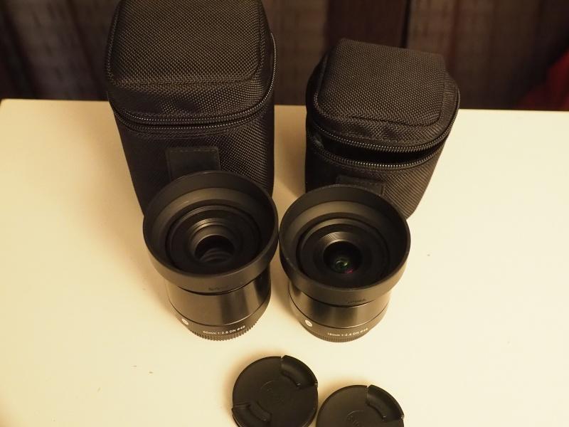 Je recherche les Sigma 19f/2.8 et 60 f/2.8 P4270110