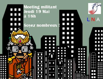 Meeting Militant du LNA Campag13