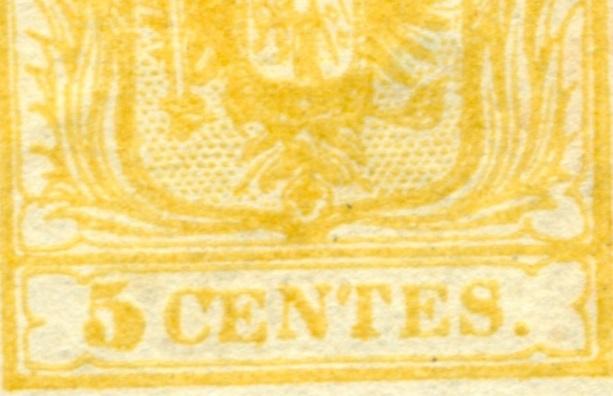 Lombardei - Venetien 1850 - 1858 - Seite 3 5_cent10
