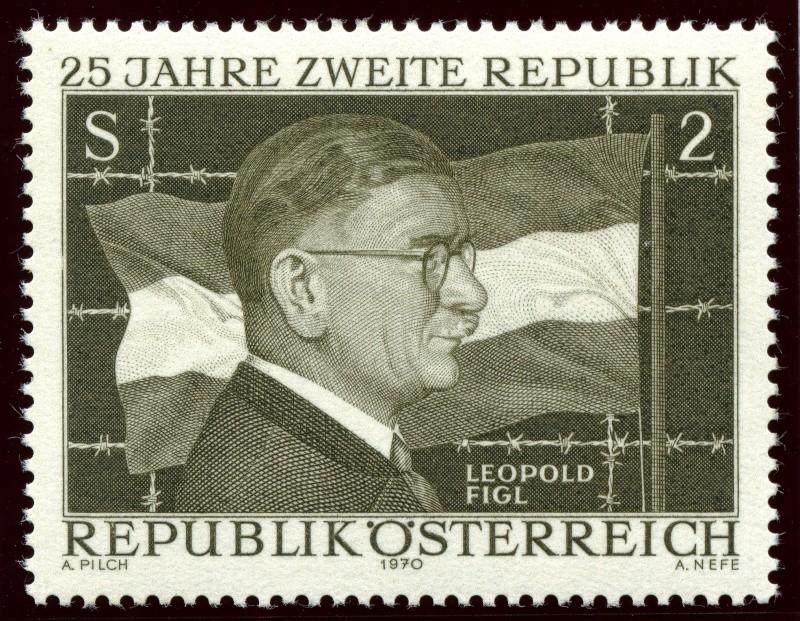 Briefmarken - Österreich, Briefmarken der Jahre 1970 - 1974 Ank_1312