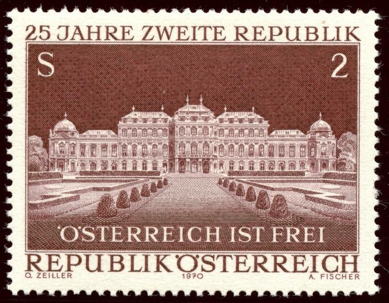 Briefmarken - Österreich, Briefmarken der Jahre 1970 - 1974 Ank_1313