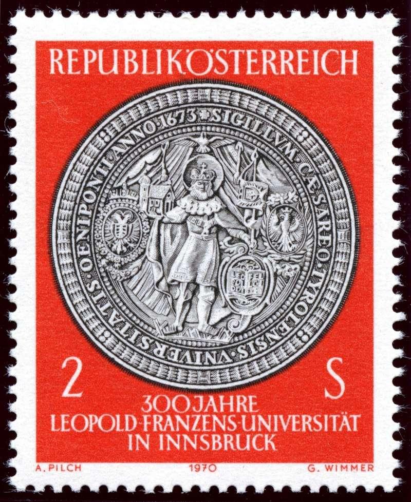 Österreich, Briefmarken der Jahre 1970 - 1974 Ank_1315